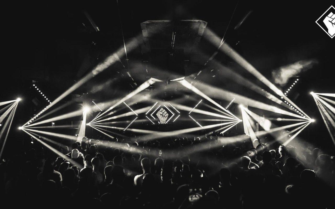 Licht Effecten op een evenement